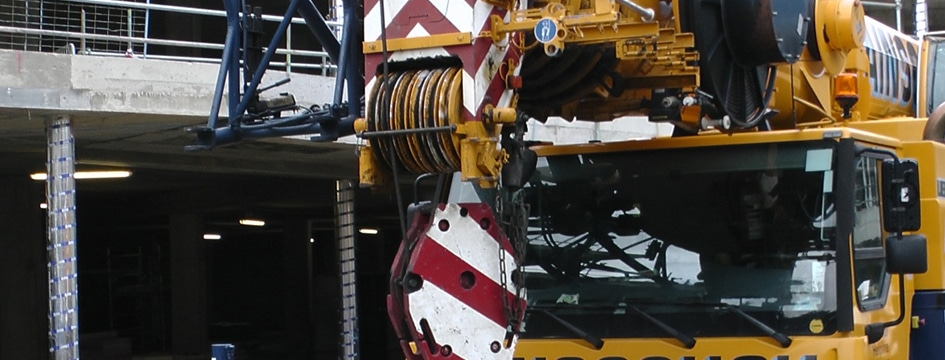 Crane repairs services