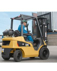 Cat 4500mm Forklift hire Hampshire
