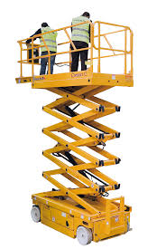 Haulotte H10W scissor lift hire Hampshire