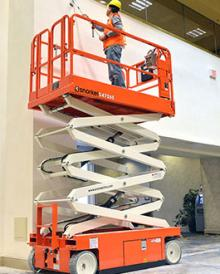 S4726E scissor lift hire Hampshire