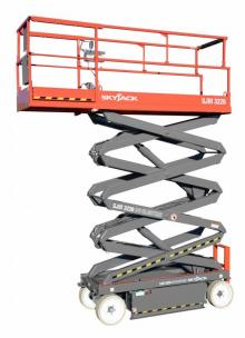SJ3226 scissor lift hire Hampshire