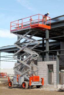 SJ8841RT scissor lift hire Hampshire