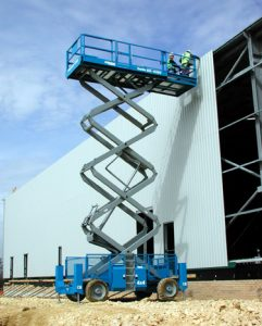scissor lift hire Hampshire